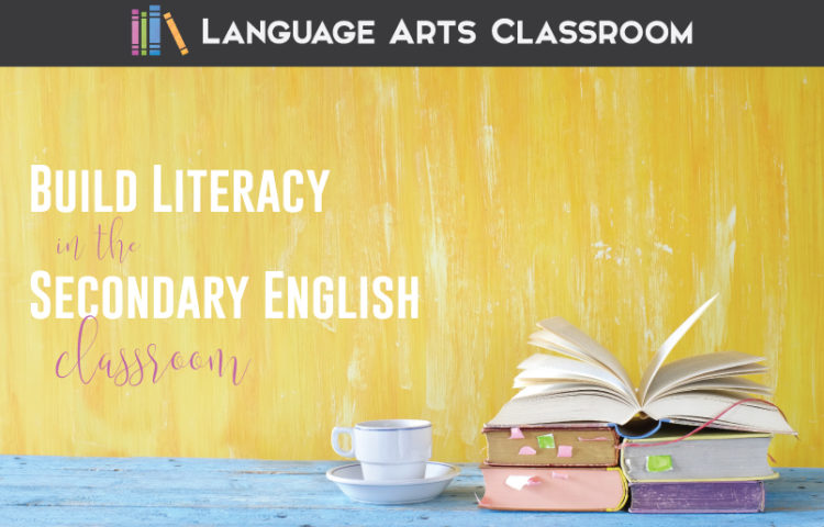 Are you teaching literacy in high school? Literacy in high school is important for ELA lessons as well as classroom management. Add literacy classroom displays to your secondary language arts classroom library.