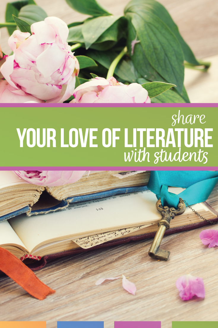 share literature with students to engage secondary ELA students. Language arts teachers can see the Impact of literature on students.
