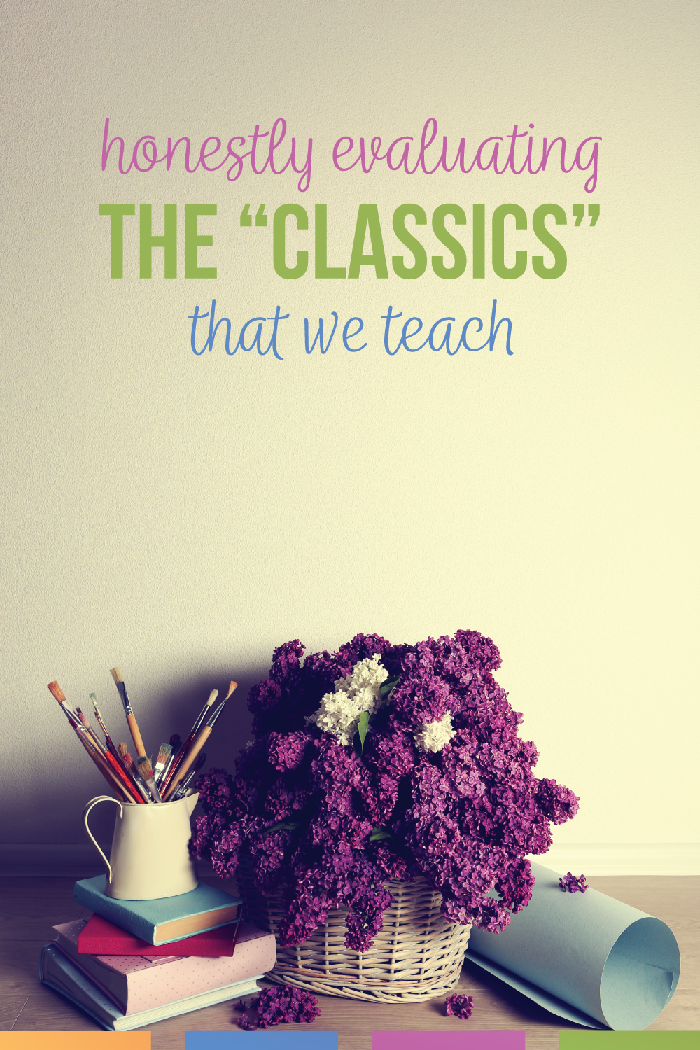 Should high school English teachers still teach To Kill A Mockingbird? What classics should we teach in high school? What messages do these classics send to developing brains?