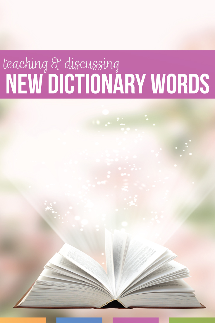 One of my best lessons of the school year was unplanned. Students and I discussed our changing language & new dictionary words.