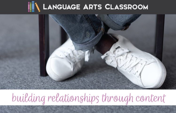 As a teacher, building relationships through content is a sustainable practice for interacting with students.