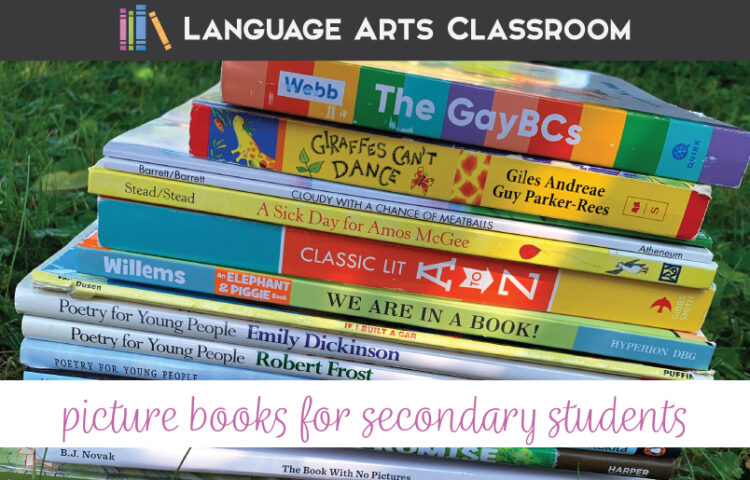 How can picture books add depth to your secondary English classes?